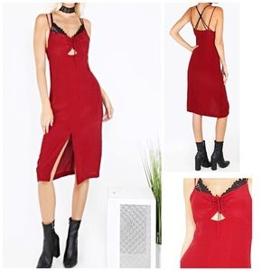 "Dresses & Skirts - 🎉HP🎉""Jolie"" WINE Dress🍂"